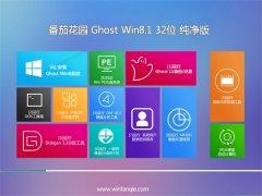 番茄花园Ghost Win8.1 32位 青春纯净版 2021.06
