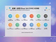 新萝卜家园Win10 娱乐纯净版64位 2021.06
